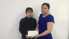 Trao hơn 20 triệu đồng đến bé Nguyễn Đức Trí Thiện