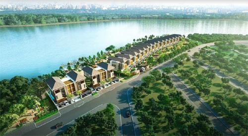 Lavila De Rio - biệt thự ven sông đẳng cấp ở Nam Sài Gòn