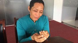 Vợ ung thư nhặt ve chai nuôi chồng thần kinh, con thơ 10 tuổi
