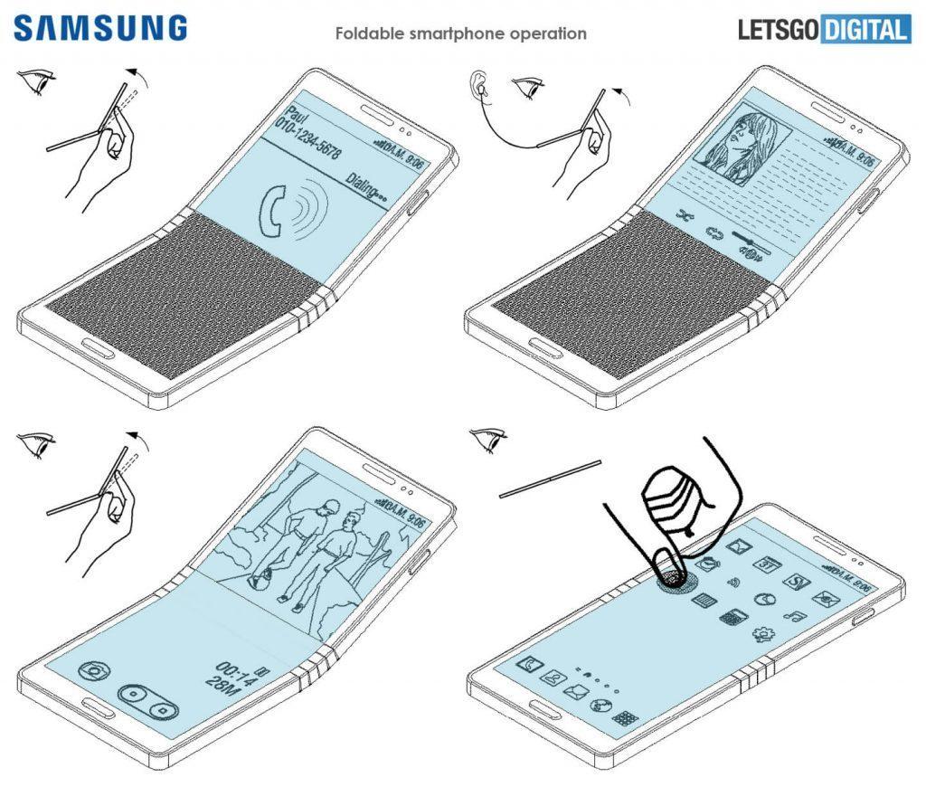 Cơ chế hoạt động đặc biệt của điện thoại gập đôi Galaxy X
