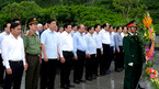 Thủ tướng dâng hương tại Khu di tích Tổng bí thư Hà Huy Tập