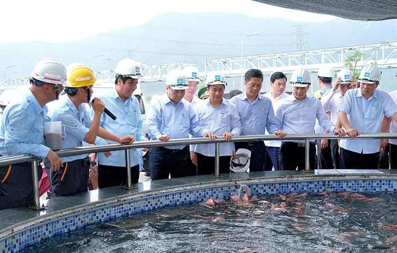 Thủ tướng thị sát hoạt động, làm việc với Formosa Hà Tĩnh