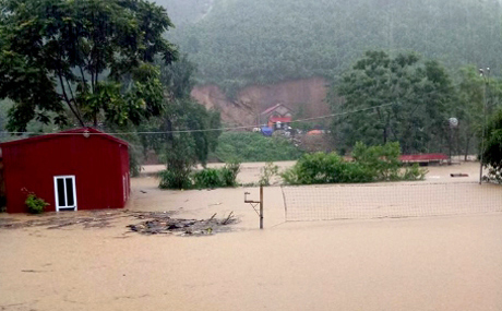 Yên Bái: 21 người chết và mất tích, cầu sập, nhiều nơi bị chia cắt