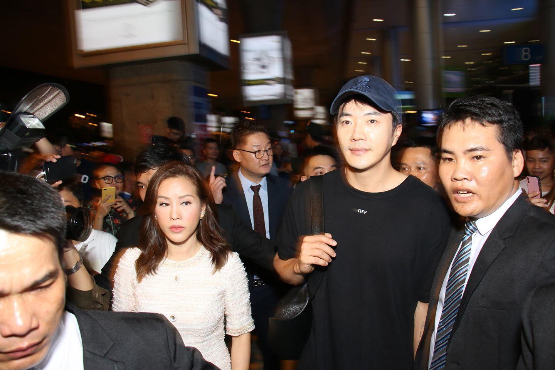 Kwon Sang Woo tới Việt Nam