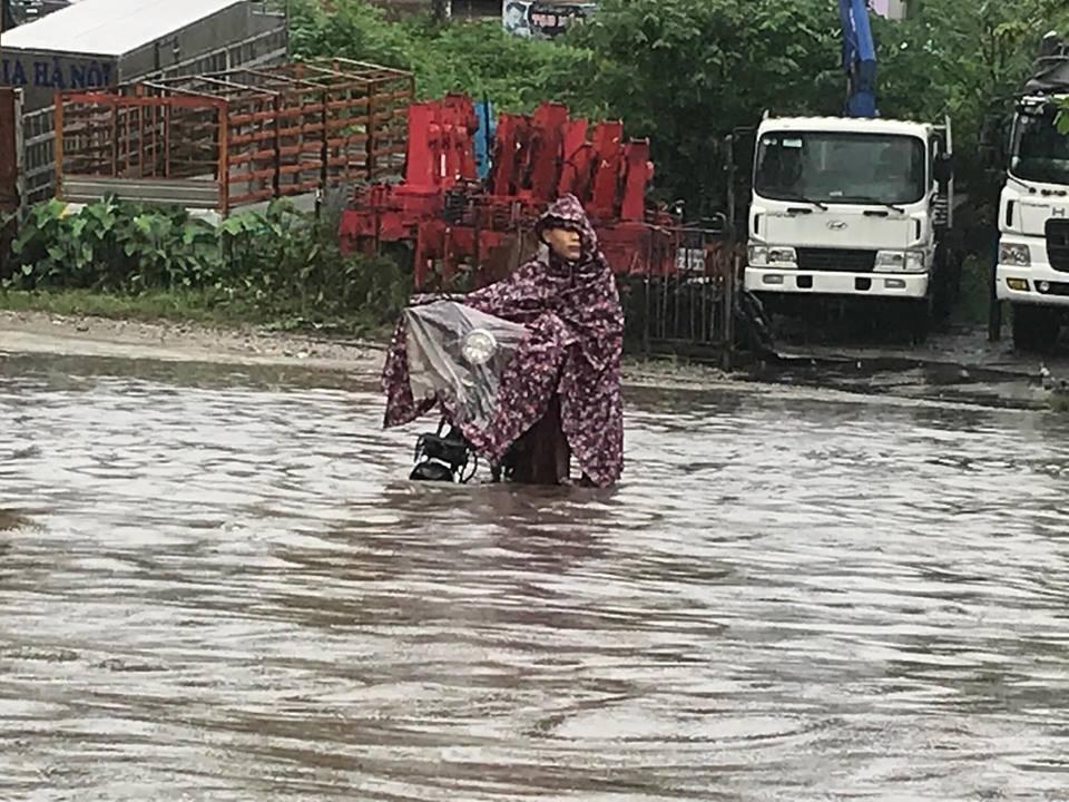 Mưa lớn,ngập,Hà Nội