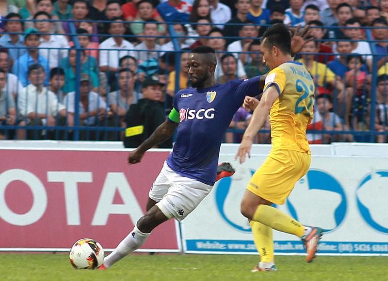 FLC Thanh Hoá 2-1 Hà Nội: Samson lập công (H1)