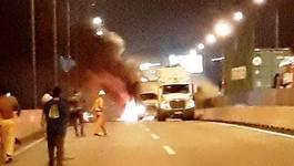 Tình tiếtbất ngờvụ tông xe 2 người chết trên cao tốc Long Thành