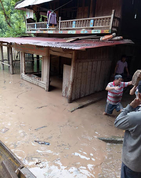 mưa lũ,Nghệ An