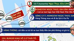 Tài xế taxi đã lừa trả tiền âm phủ cho du khách như thế nào?