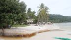 Dòng nước đen ngòm xuất hiện tại bãi biển đẹp nhất Phú Quốc