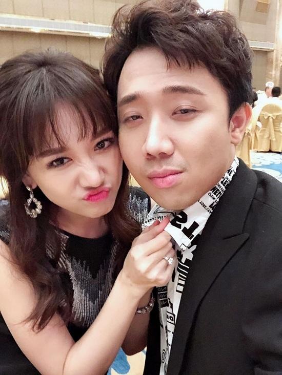 Sau 2 năm cưới Trấn Thành, Hari Won giờ mới có cảm giác 'làm vợ'