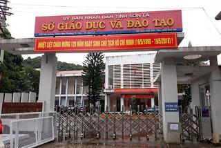 Trưa nay công bố kết luận rà soát điểm thi tại Sơn La
