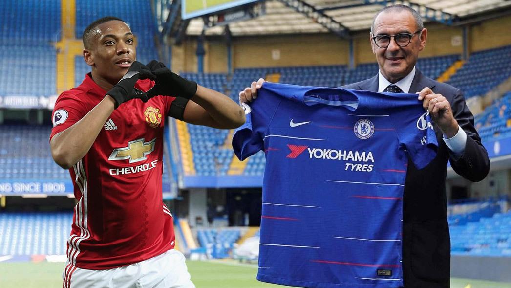 Chelsea gây rối MU: 'Bố già' Sarri và điệp vụ Martial