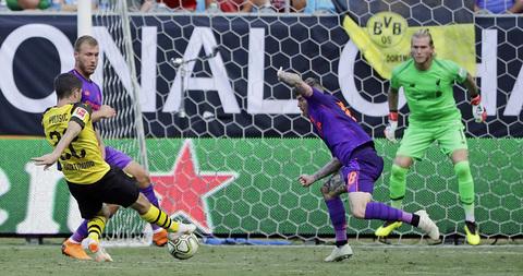 Video Liverpool 1-3 Dortmund