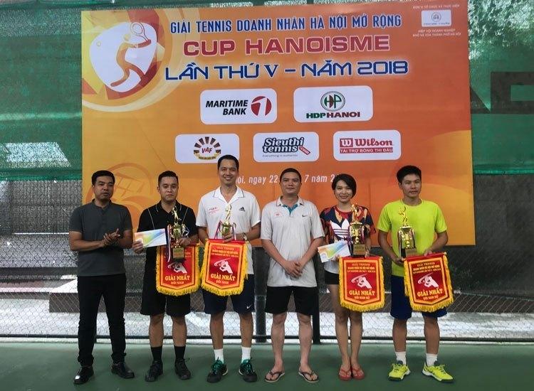 Giải Tennis Doanh nhân Hà Nội mở rộng lần thứ V