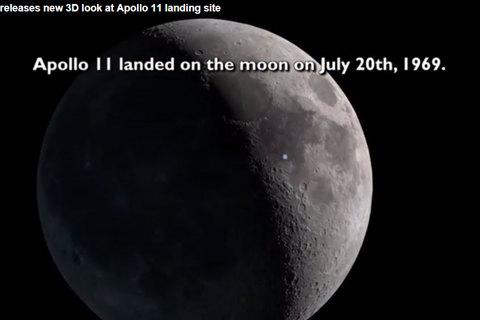 Ảnh NASA muốn che giấu về việc đổ bộ xuống mặt trăng
