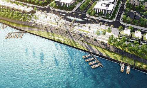 Quảng trường ánh sáng One River- nơi gắn kết cộng đồng