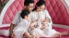 Vợ chồng Khánh Thi, Phan Hiển hạnh phúc bên hai con