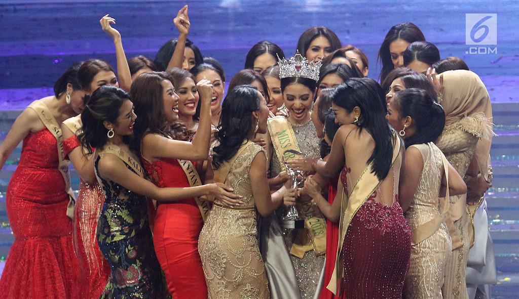 Tân Hoa hậu Hòa bình Indonesia bị chê xấu