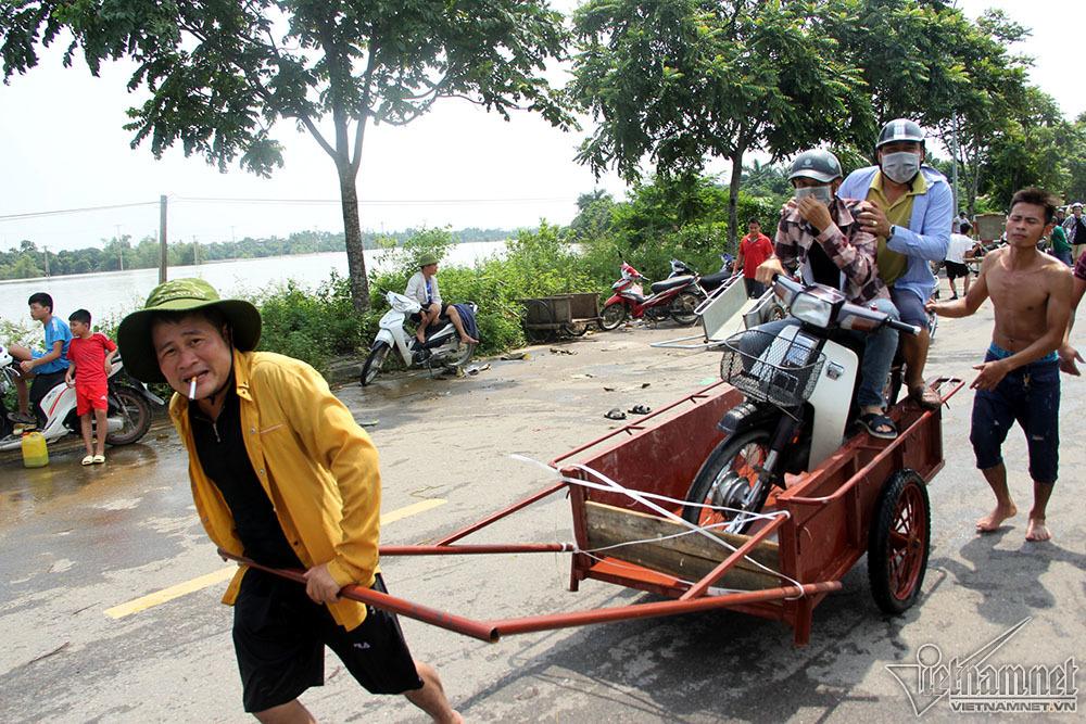 mưa lũ,ngập lụt,đại lộ Thăng Long,Hà Nội