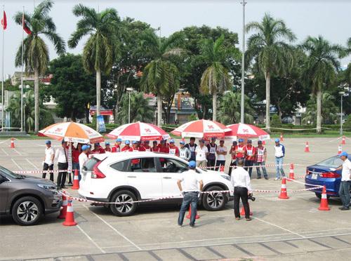 Honda VN đẩy mạnh đào tạo lái ôtô an toàn