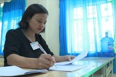 Chấm thẩm định bài thi THPT quốc gia ở Hòa Bình: 100% bài thi giữ nguyên kết quả