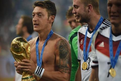Ozil và World Cup 2014