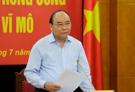 Thủ tướng làm việc với Ban Kinh tế Trung ương