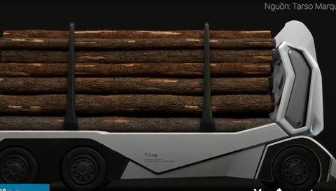 Đây là chiếc xe tải thế hệ mới - bỏ buồng lái, không thải khói