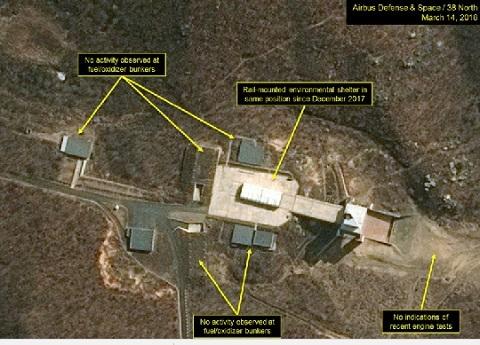 Triều Tiên,bãi thử,tên lửa,tên lửa đạn đạo