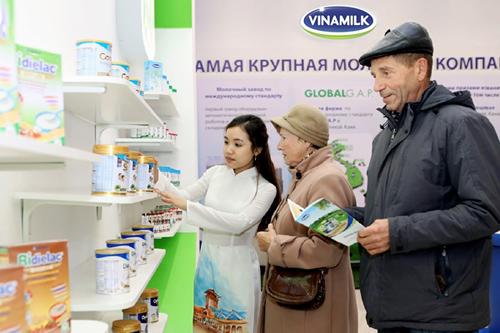 Vinamilk - Doanh nghiệp xuất khẩu uy tín