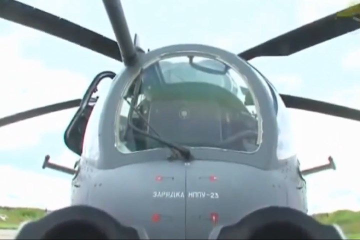 Uy lực trực thăng tấn công Mi-35M đáng sợ của Nga