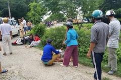 Chạy trốn CSGT, 2 cô gái đâm người đi bộ lăn lông lốc