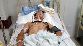 3 cha con tai nạn nghiêm trọng, gia đình kêu khóc trong cảnh khốn cùng