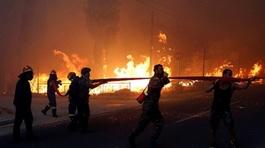 Cháy rừng ở Hy Lạp, tìm thấy hàng chục thi thể trong một biệt thự