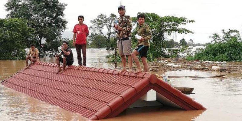 Vỡ đập thủy điện Lào, hàng trăm người mất tích