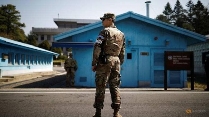 Hàn Quốc,Triều Tiên,chòi gác,quan hệ liên Triều