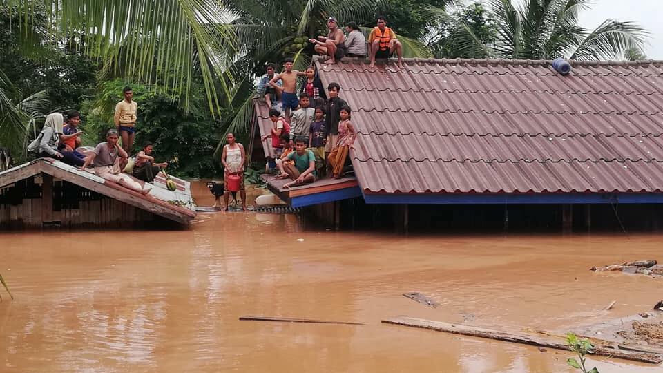 Vỡ thủy điện ở Lào,vỡ đập thủy điện