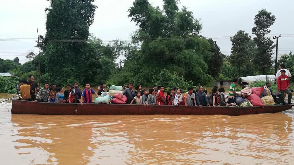 Cập nhật thảm họa vỡ đập ở Lào: 131 người vẫn mất tích