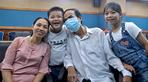 Vợ trẻ kém 17 tuổi hiến gan cứu sống chồng viêm gan B lâu năm