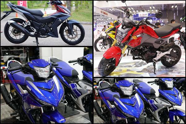 Top xe mô tô giá rẻ dưới 50 triệu đồng đáng mua nhất 2018