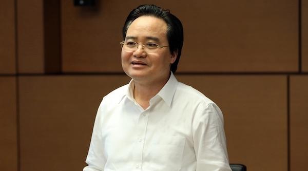 Bộ trưởng Phùng Xuân Nhạ nhận trách nhiệm về kỳ thi THPT quốc gia