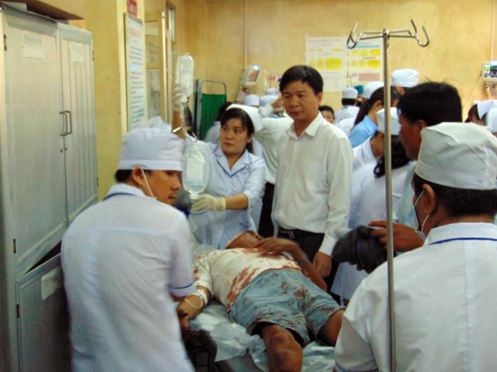 Truy sát ở Bạc Liêu, 1 người chết, 10 người bị thương
