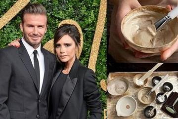 Giàu có là thế nhưng bí quyết làm đẹp của vợ chồng Beckham lại từ... phân chim