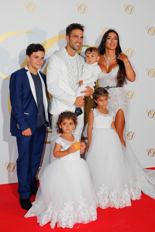 Dàn sao thượng thặng dự tiệc mừng đám cưới Fabregas