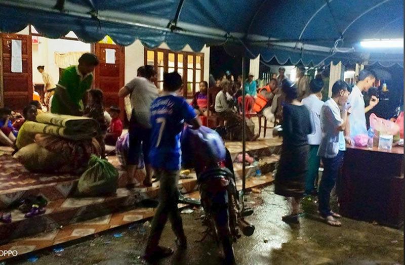 Hình ảnh dân Lào khốn khổ vì vỡ đập thủy điện
