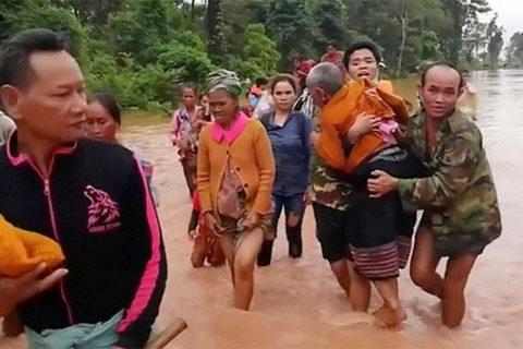 Người dân Lào khốn khổ vì vỡ đập thủy điện