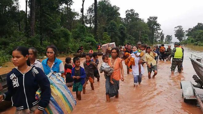 Vỡ đập thuỷ điện tại Lào: Mực nước về ĐBSCL có thể tăng 7-10cm