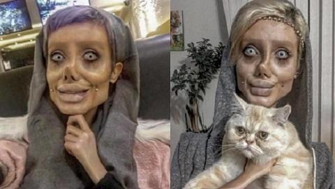 phiên bản xác sống Angelina Jolie