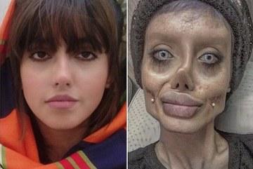 Phiên bản 'xác sống' của Angelina Jolie lần đầu lộ mặt thật